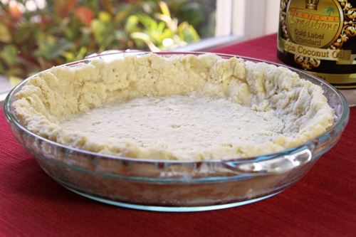 Coconut Oil Pie Crust Recipe_photo