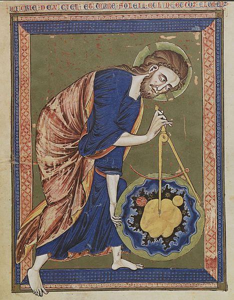 God the Geometer image