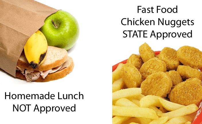 essay on school cafeteria food