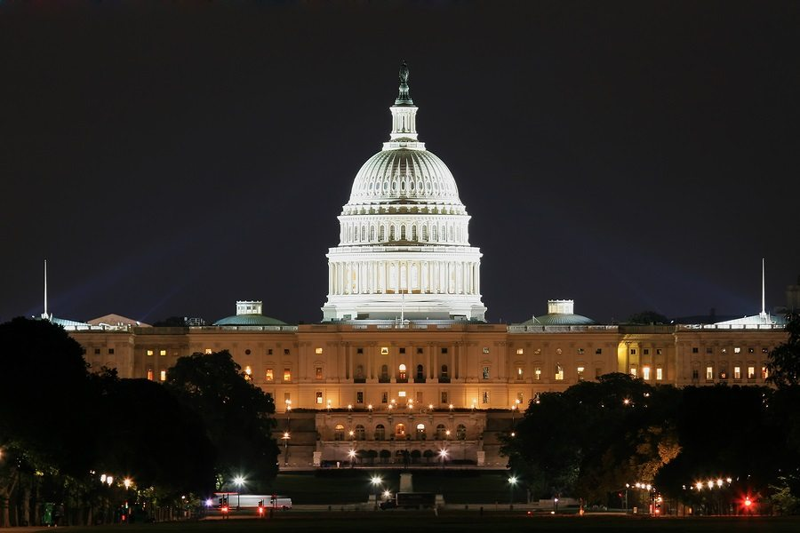 Washington-Capitol-Night
