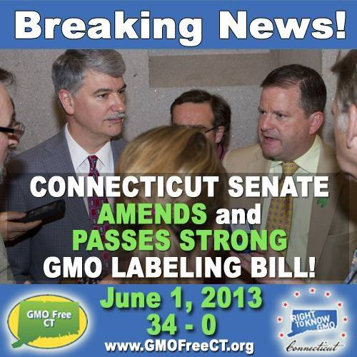 Connecticut GMO Labeling bill