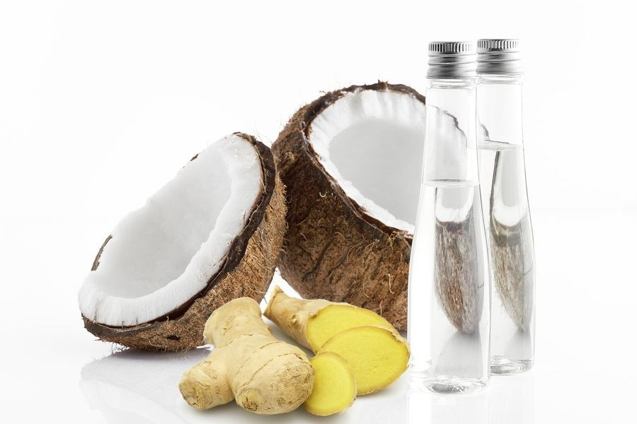 coconuts and ginger