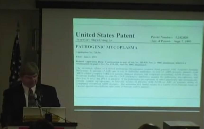U.S. Patent Mycoplasma