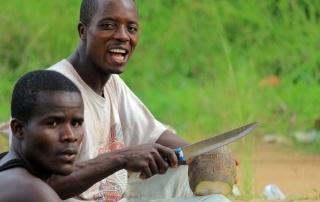 Making-coconut-oil-Liberia