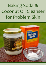 baking_soda_and_coconut_oil_cleanser_for_problem_skin
