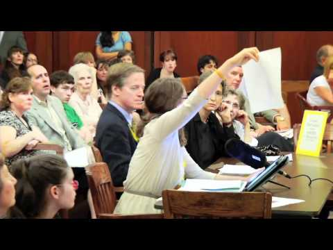 Testimony For Vaccine Exemption in Schools To MA Legislators on H1055