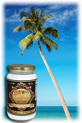 coconut oil palm tree
