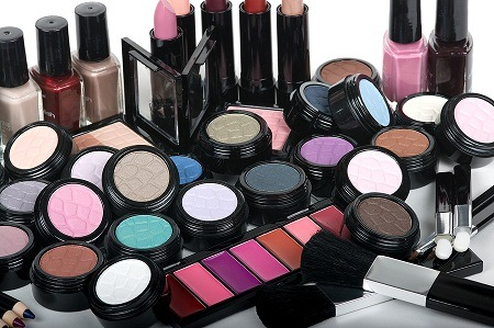 image of commercial cosmetics that may contain parabens