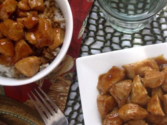 Bourbon Chicken photo