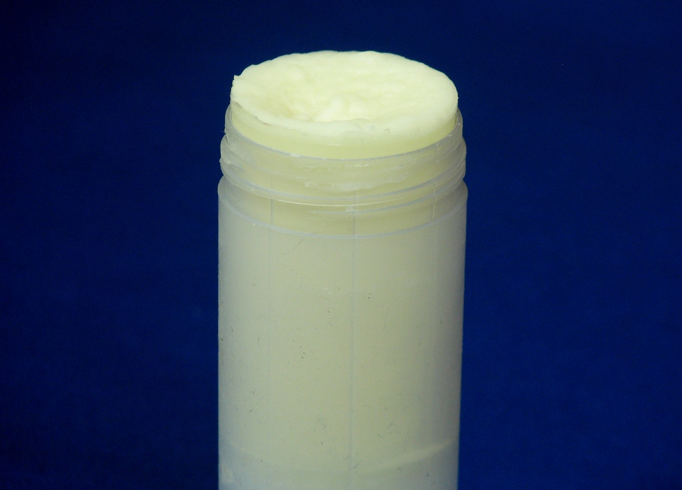 photo of home-made coconut oil deodorant