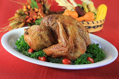 Herb Roasted Pastured Thanksgiving Turkey Recipe with Coconut Oil