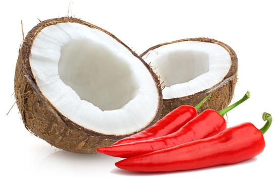 Coconut Oil and Chili Peppers Together Increases Thermogenesis Leading to Weight Loss