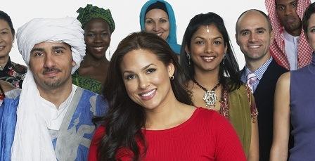 Multi-ethnic-people