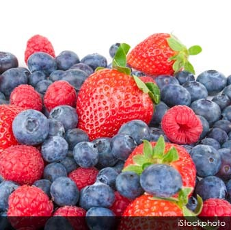 Blueberries and Strawberries Reduce Heart Attack Risk