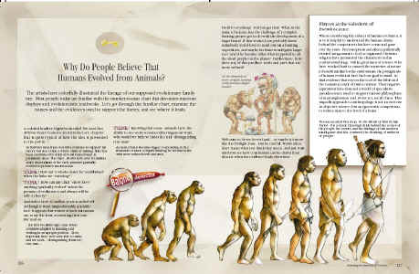 Man pdf of evolution