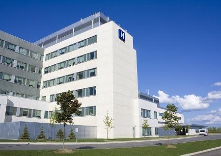 Modern day hospital