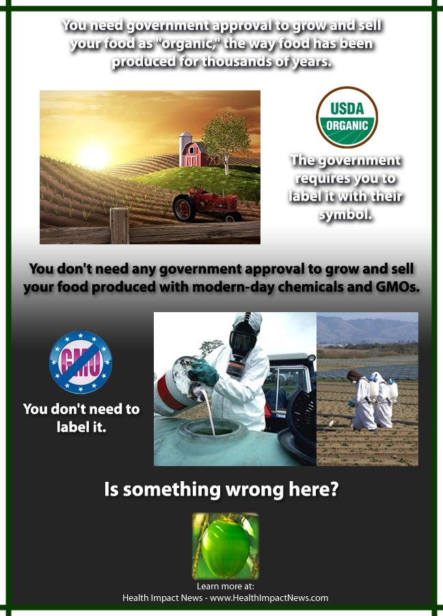 organic labeling vs. GMO labeling