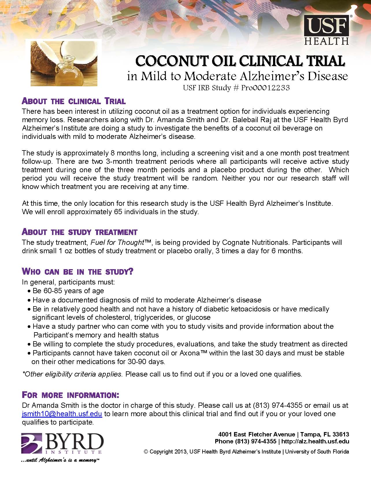CoconutOilStudyFlyer62013