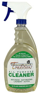 Non-toxic household cleaner