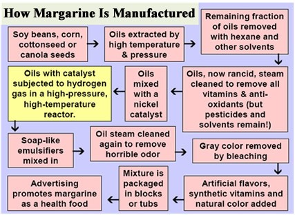 What is the difference between butter and margarine?