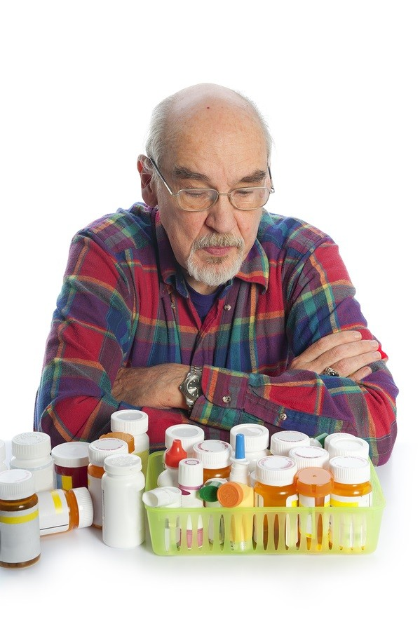 Senior-Citizen-With-Prescription-medicines