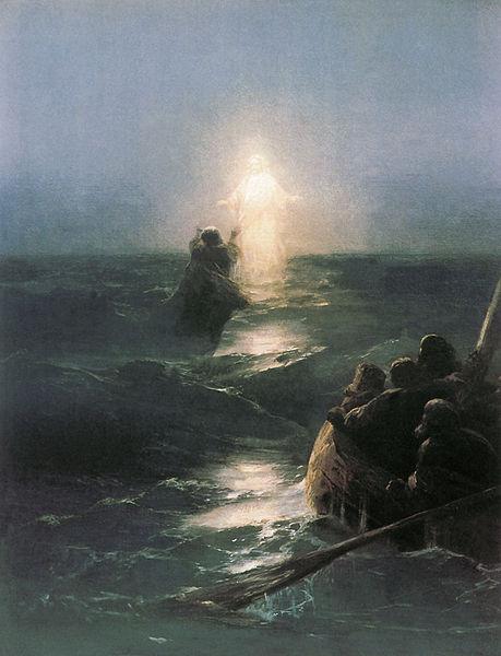 christ-walking-on-water-peter-sinking