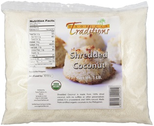 organic shredded coconut 1lb