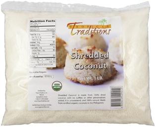organic shredded coconut 1lb
