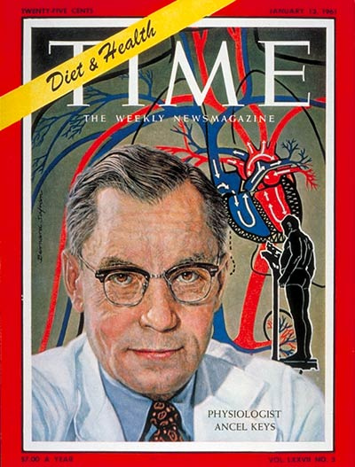 Ancel Keys Time Cover 1961