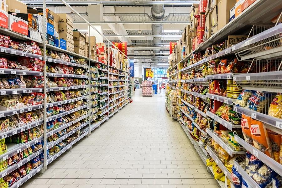 Supermarket Aisle Food