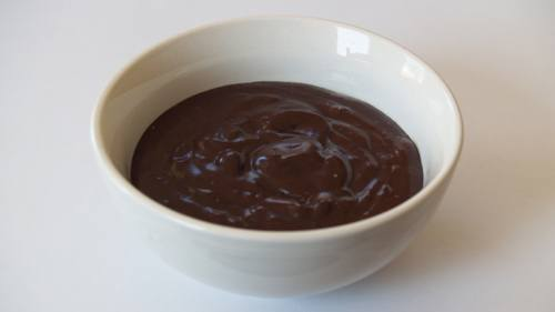 Quick Chocolate Coconut Pudding-Fudge photo