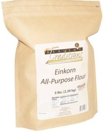 Einkorn Flour Healthy Traditions Glyphosate-Tested 5