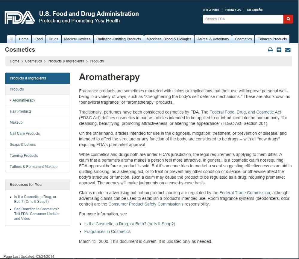 FDA-Aromatherapy-old