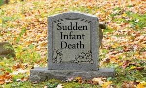 Old child's gravestone tombstone