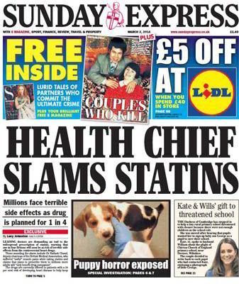 Statin Drug Scandal: Cholesterol-lowering Drug Researchers Start ...