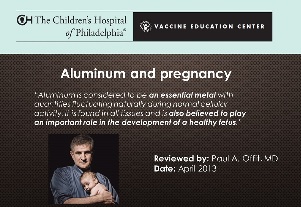 Aluminum is Toxic to All Life Forms: So Why is it Used in Vaccines?