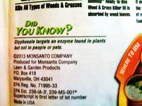 monsanto-glyphosate-claim-false-advertisting