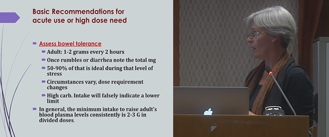 Dr Humphries Recommended Doses