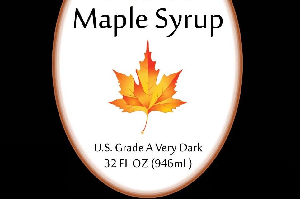 Maple Syrup very dark