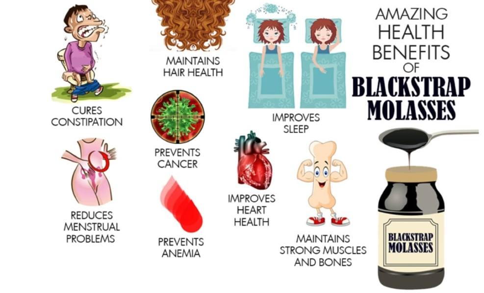 blackstrap-Molasses-health-benefits