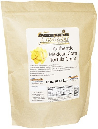 Authentic Mexican Corn Tortilla Chips sm