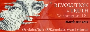 Revolution for Truth Rally in Washington D.C. March 31