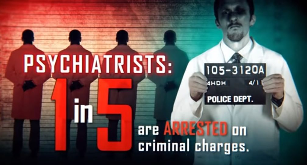 Psychiatrists Are Among Top Criminals in the U.S