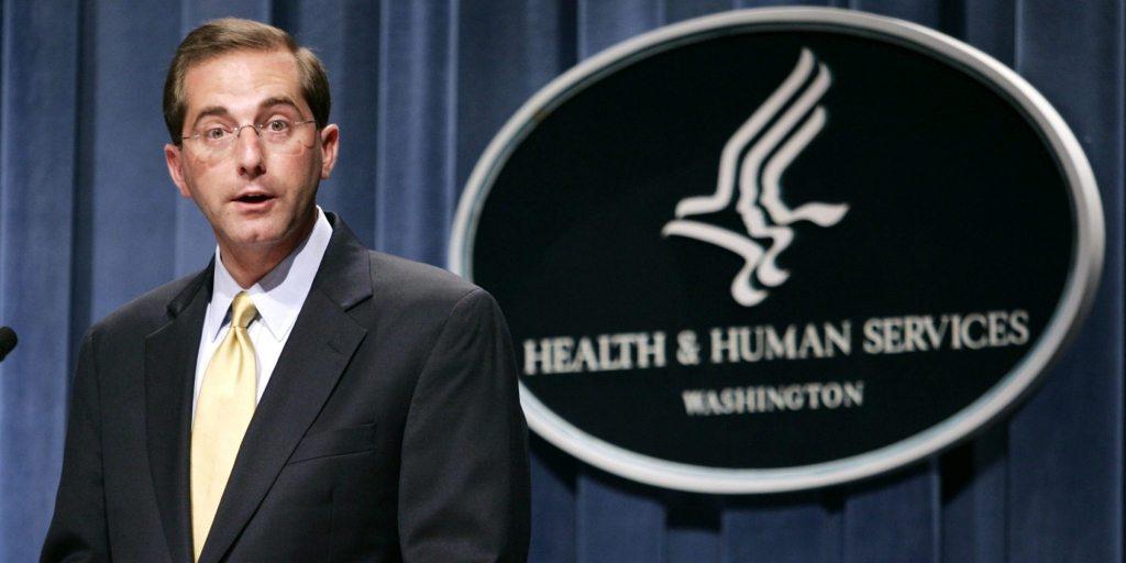 President Trump Nominates Big Pharma Pro-Vaccine Exec as Secretary of the Health and Human Services