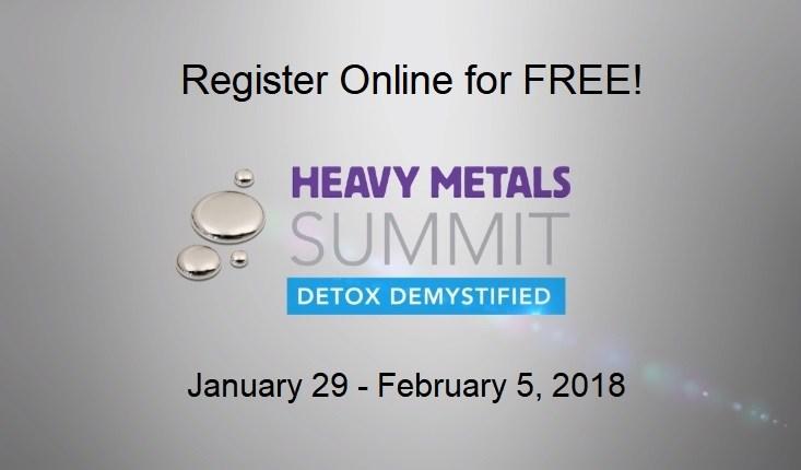 Heavy Metals Summit Register
