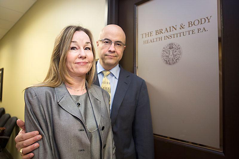 Dr. Robert Van Boven and his wife