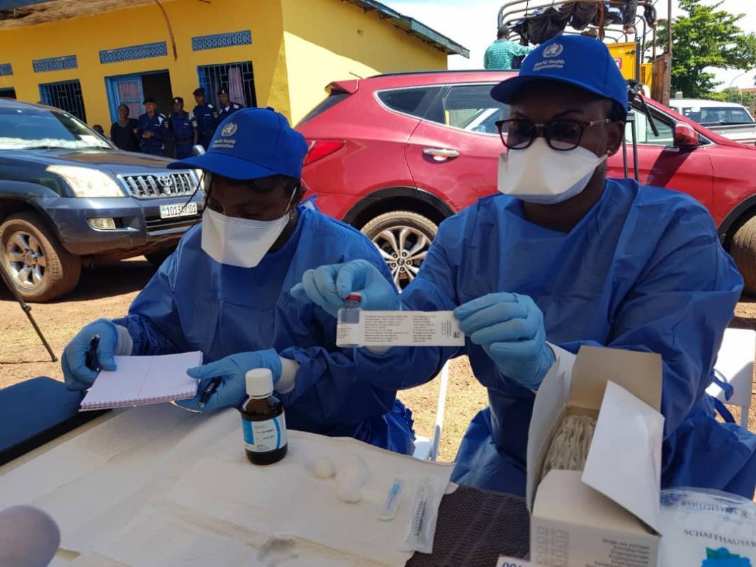 Congo Ebola WHO vaccine