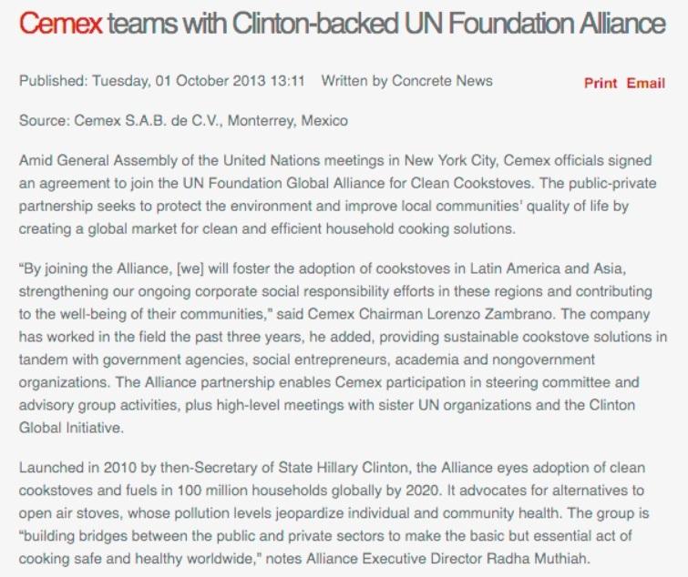 Clinton Cemex