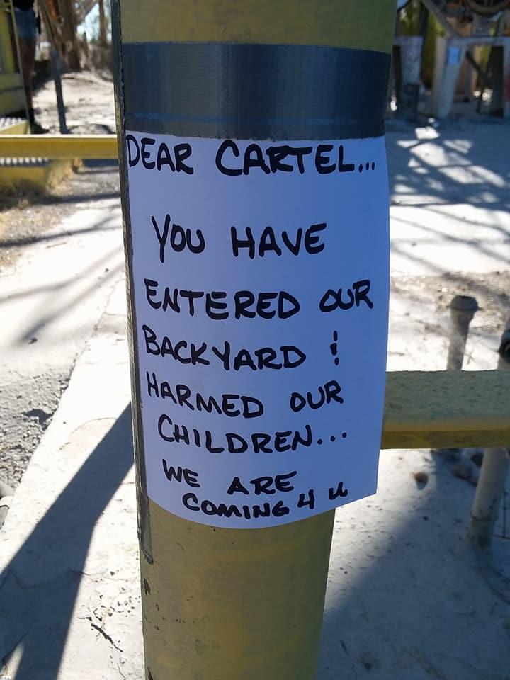 Cartel Warning