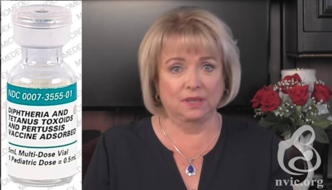 Barbara Loe Fisher DTaP vaccine